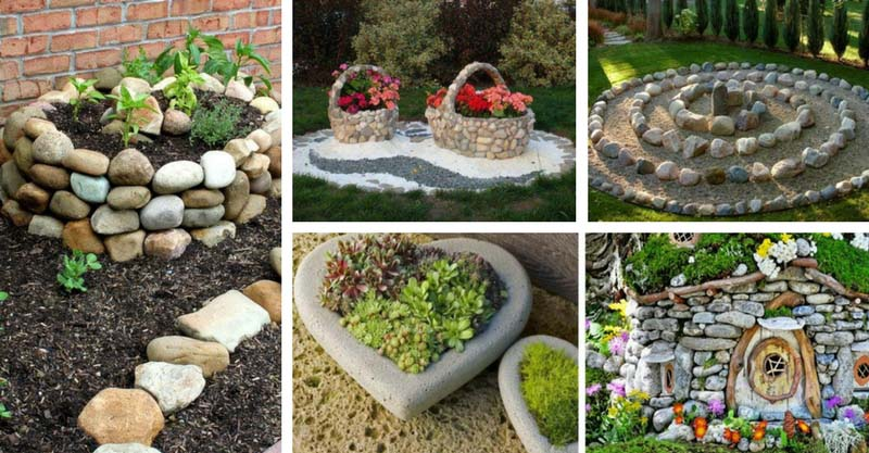 10 Beautiful Stone Garden Decorations That Will Amaze You