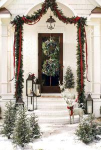 Christmas front door 2