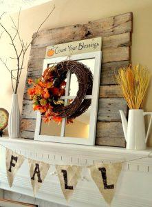 16 most creative fall mantel decorations