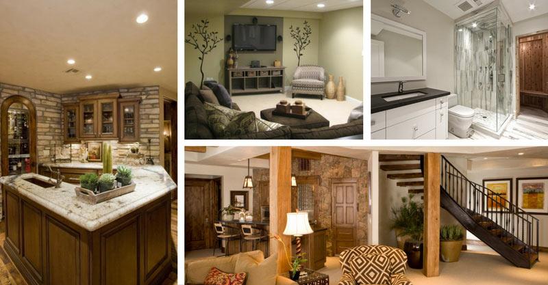 22 Stunning basement remodels