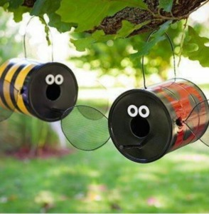 Repurposed paint cans