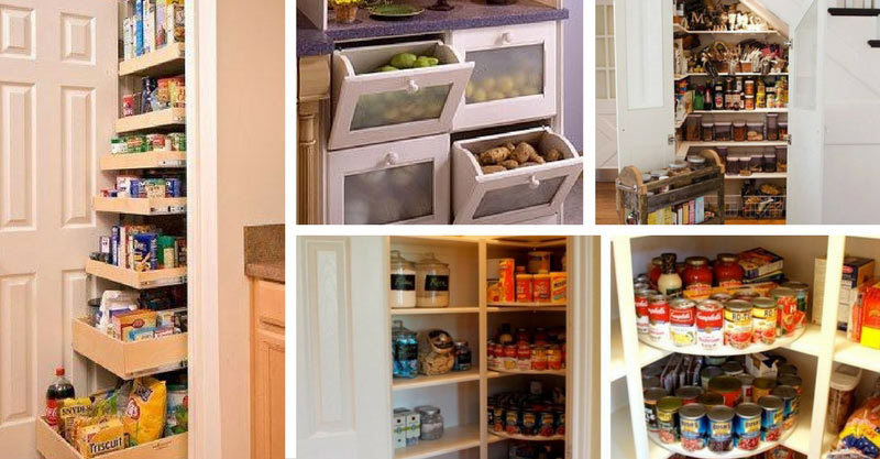 21 Kitchen Pantry ideas