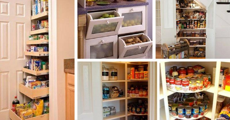 21 Kitchen Pantry ideas
