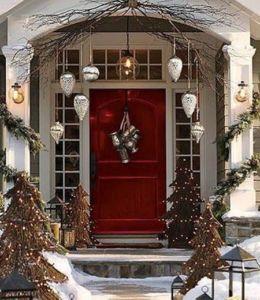 Christmas front door-1