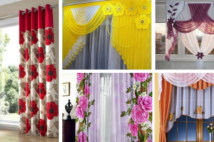 12 Floral Curtains to Captivate You