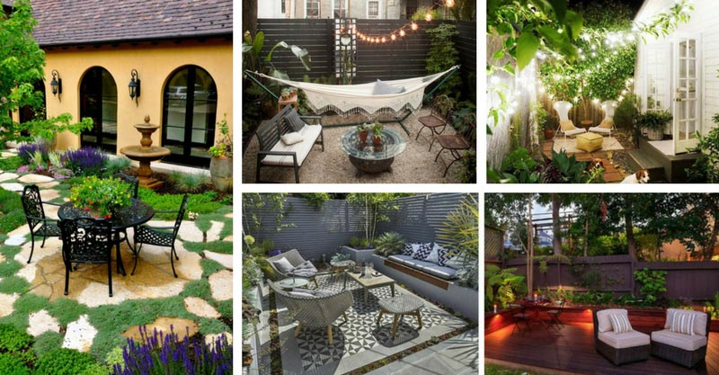 17 beautiful small patio designs