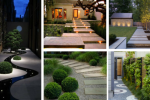 Fascinating Garden paths for modern outdoor atmosphere