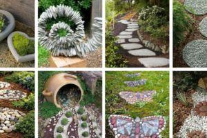 Garden-stone-decor