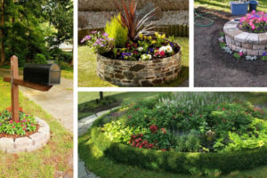 Round-flower-beds