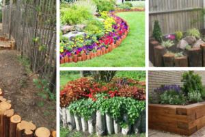 Splendid Wooden Garden Edging Ideas You Should See