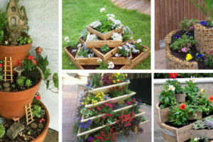 Tiered-planters