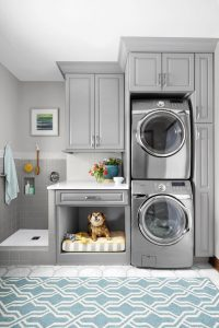 Laundry room with pet shower 1