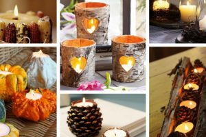 17 warming candle decorations fall season